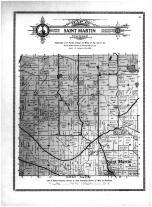 Saint Martin Township, Stearns County 1912